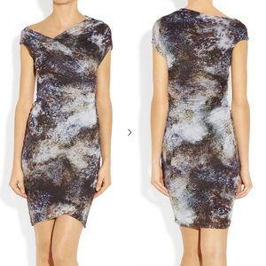 Helmut Lang Rushed Jersey Dress